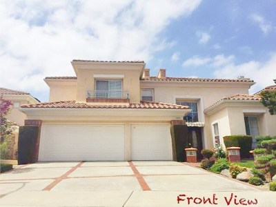 Rowland Heights Single Family Home For Sale: 18981 Bramhall Lane