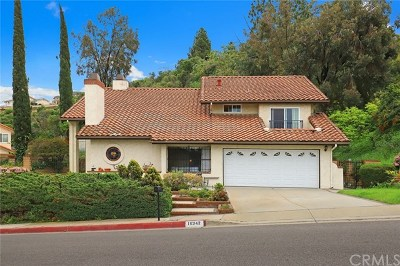 Hacienda Heights Single Family Home For Sale: 16342 Elza Drive