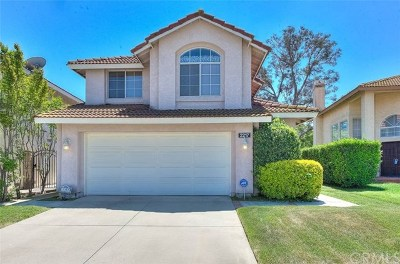 Chino Hills Single Family Home For Sale: 2217 Hedgerow Lane