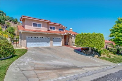 West Covina Single Family Home For Sale: 1031 Highlight Drive
