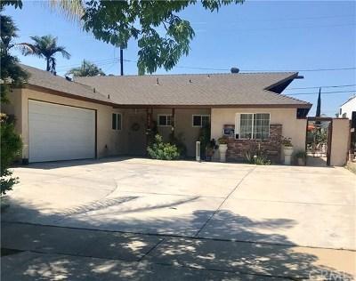 Glendora Single Family Home For Sale: 1641 S Rimhurst Avenue