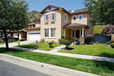 Azusa Single Family Home For Sale: 17 Turning Leaf Way