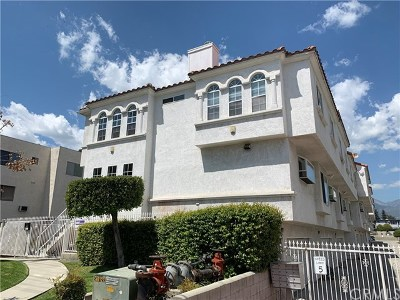 San Gabriel Condo/Townhouse For Sale: 335 E Broadway #8