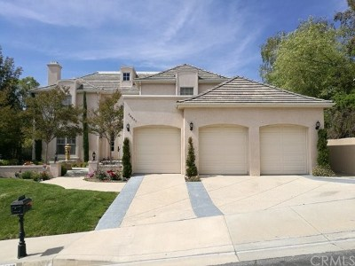 Brentwood, Calabasas, West Hills, Woodland Hills Single Family Home For Sale: 24837 Paseo Del Rancho