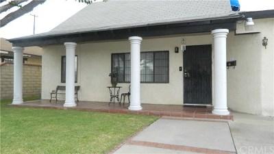 Pomona Single Family Home For Sale: 2442 Marquette Avenue