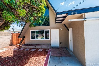Baldwin Park Single Family Home For Sale: 4521 Bresee Avenue