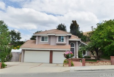 Chino Hills Single Family Home For Sale: 3222 Moonlight Court