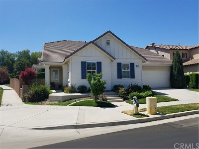 Corona Single Family Home For Sale: 25343 Coral Canyon Road