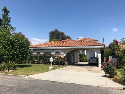 Temple City Single Family Home For Sale: 6042 Agnes Avenue