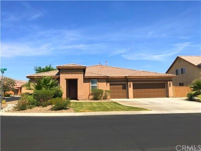 Indio Single Family Home For Sale: 37182 Bosley Street