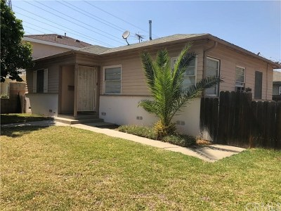 San Gabriel Single Family Home For Sale: 1233 E Broadway