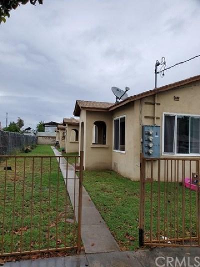 San Bernardino Multi Family Home For Sale: 968 W 11th Street