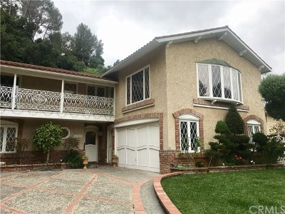South Pasadena Single Family Home For Sale: 1730 Via Del Rey
