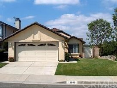 Chino Hills Single Family Home For Sale: 13560 Softwind Drive