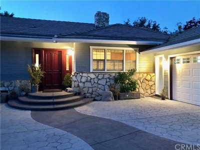 La Crescenta Single Family Home For Sale: 3709 Beechglen Drive