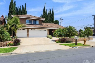 Yorba Linda Single Family Home For Sale: 16731 Landmark Avenue