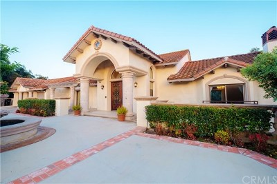 Diamond Bar Single Family Home For Sale: 23240 Ridge Line Road