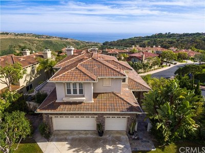 Newport Coast Single Family Home For Sale: 34 Coral Reef