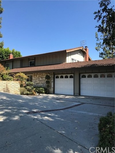 Whittier Single Family Home For Sale: 8816 Seranata Drive
