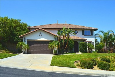 Chino Hills Single Family Home For Sale: 5488 Pine Avenue