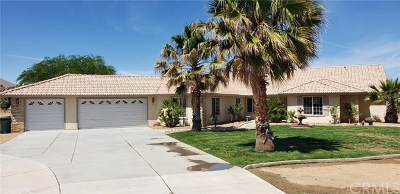 Apple Valley Single Family Home For Sale: 10252 Bella Vista Street