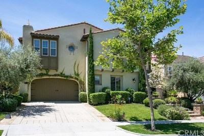 Ladera Ranch Single Family Home For Sale: 8 Adele Street