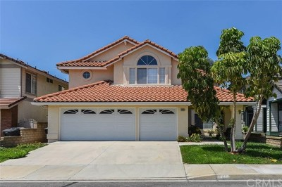 Chino Hills Single Family Home For Sale: 2464 Hawkwood Drive