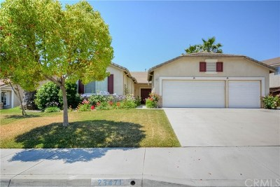 Murrieta Single Family Home For Sale: 23471 Mountain Breeze Drive