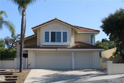 Chino Hills Single Family Home For Sale: 2341 Madrugada Drive