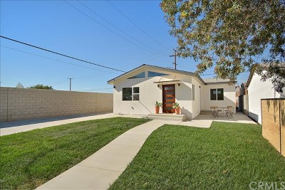 El Monte Single Family Home For Sale: 10145 Railroad Drive