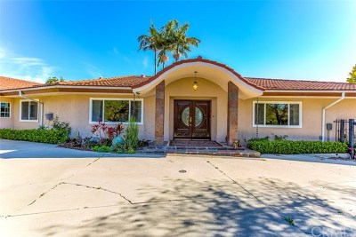 La Habra Heights Single Family Home For Sale: 2168 Citron Road