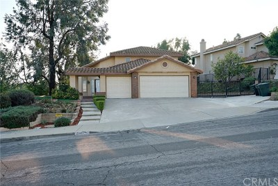 Chino Hills Single Family Home For Sale: 2597 Diamond Drive