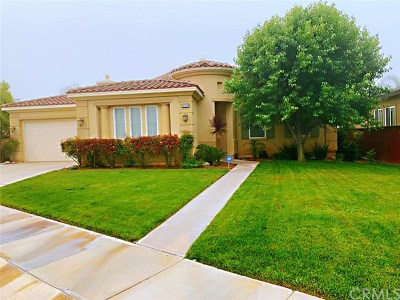 Beaumont Single Family Home For Sale: 36229 Blue Hill Drive