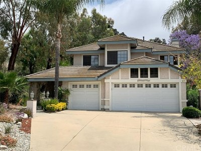 Chino Hills Single Family Home For Sale: 3197 Montelena Court