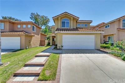Chino Hills Single Family Home For Sale: 15680 Altamira Drive