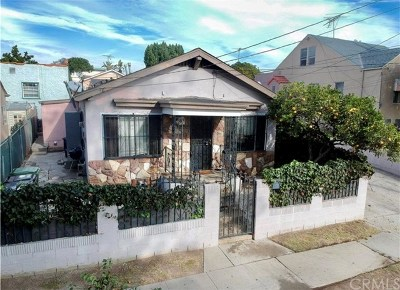San Pedro Single Family Home For Sale: 584 W Santa Cruz Street