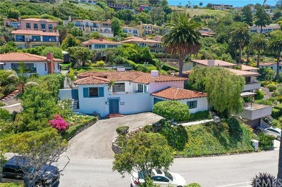 Los Angeles County Single Family Home For Sale: 701 Via Somonte