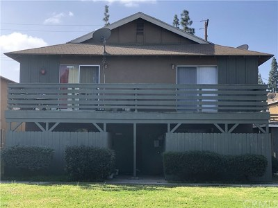 Anaheim Multi Family Home For Sale: 2122 S Broden Street