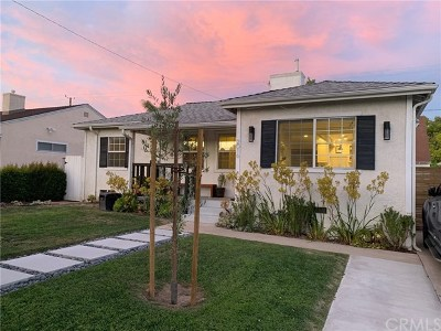 Burbank Single Family Home For Sale: 2016 N Rose Street