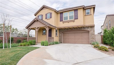 Chino Single Family Home For Sale: 16230 Crane Court