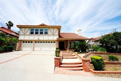 Rowland Heights Single Family Home For Sale: 17925 Calle Los Arboles