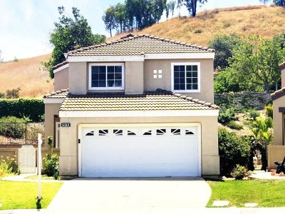 Chino Hills Single Family Home For Sale: 6315 Blossom Lane