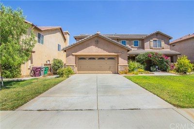 Moreno Valley Single Family Home For Sale: 26868 Claystone Drive
