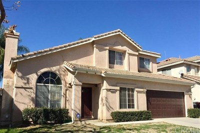 Canyon Lake, Lake Elsinore, Menifee, Murrieta, Temecula, Wildomar, Winchester Rental For Rent: 39295 Calistoga Drive