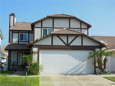 Chino Single Family Home For Sale: 4252 Valerie Lane