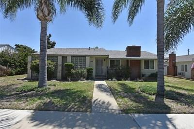 Pomona Single Family Home For Sale: 2124 N Orange Grove Avenue