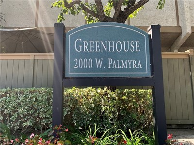 Orange Single Family Home For Sale: 2000 W Palmyra Avenue #18