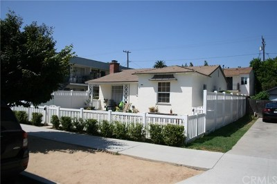 Long Beach Multi Family Home For Sale: 825 Obispo Avenue
