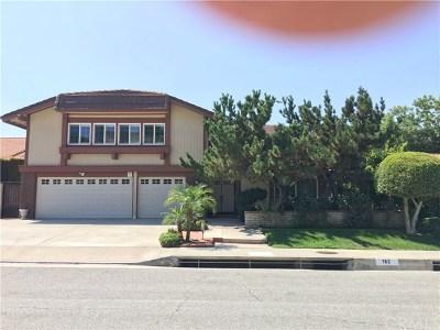 Walnut Single Family Home For Sale: 162 Amberwood Drive