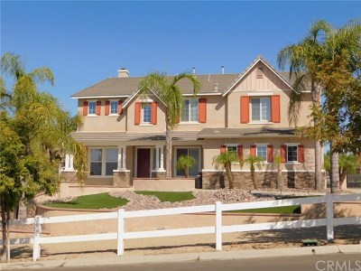 Norco Single Family Home For Sale: 1439 Valley Drive